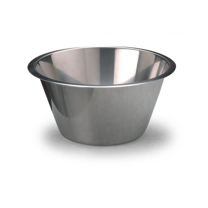 Bacinella inox fondo piatto diametro 16 cm martellato - Accessori per cake design ...