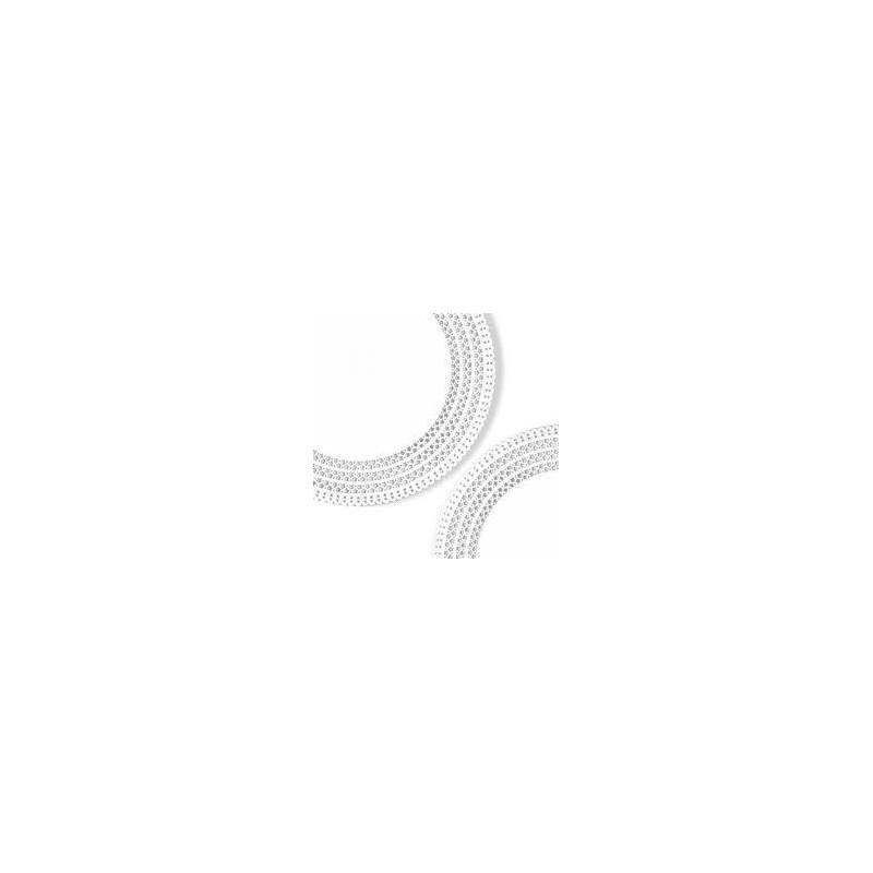 50 Dischi sottotorta merlettati APOLLO bianchi rotondi NOVACART