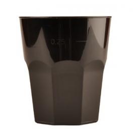 20 Bicchieri da cocktail neri 270 cc GOLD PLAST