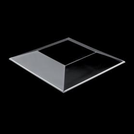 30 Coperchi in plastica trasparente GOLD PLAST