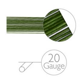 20 Steli per fiori verdi MODECOR