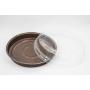 Coperchio in plastica trasparente diametro 18 cm
