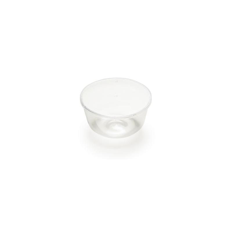 25 Zuccotti lisci con coperchio ALCAS varie misure