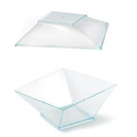 30 Vaschette Glamour con coperchio trasparente 350 cc ALCAS