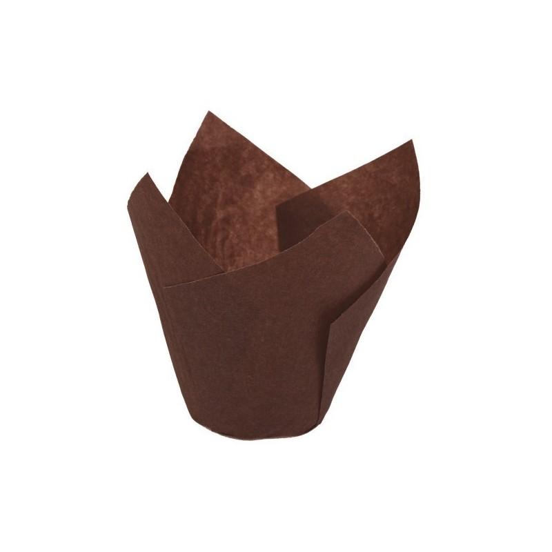 300 Pirottini MINI TULIP CUP in carta NOVACART - diametro 3 cm