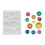 Stampo in silicone Sugarflex Bottoni SILIKOMART