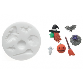 Stampo in silicone Sugarflex Halloween SILIKOMART