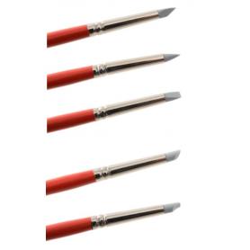 Pennelli per modellare e dipingere con punta piccola in silicone MODECOR