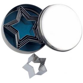 Set 6 Tagliapasta a forma di stella OTTINETTI