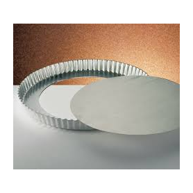 Tortiera bordo festonato in alluminio Ø 28 cm OTTINETTI