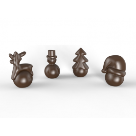 Stampo per cioccolatini Christmas POP CHOCOLAT