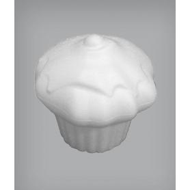 Muffin glassato in polistirolo
