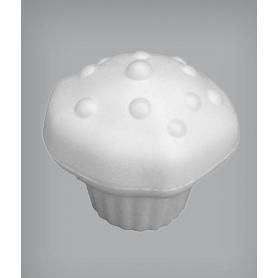 Muffin con gocce in polistirolo