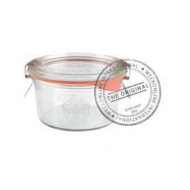 12 Vasetti in vetro con coperchio 165 ml WECK