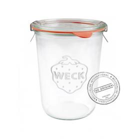 6 Vasetti in vetro con coperchio 850 ml WECK