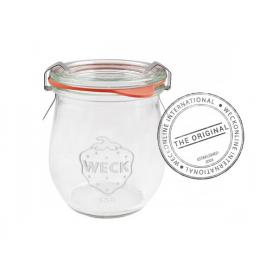 12 Vasetti in vetro con coperchio 220 ml WECK