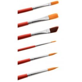 Pennelli per dipingere con punta in nylon MODECOR