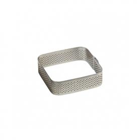 Fasce inox microforate quadrate h. 3,5 cm PAVONI
