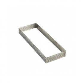 Fasce inox microforate rettangolari h. 2 cm PAVONI
