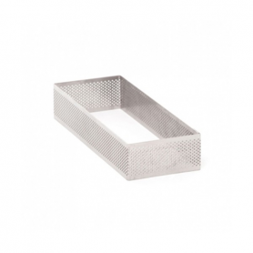 Fasce inox microforate rettangolari h. 3,5 cm PAVONI