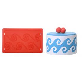 """Stampo per decorare torte a rilievo """"ONDA"""" MODECOR"""