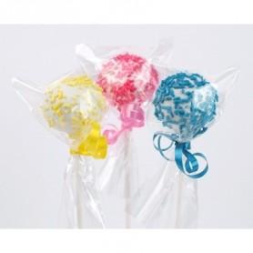 200 Sacchetti per lollipops e cioccolatini