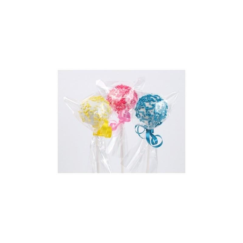 100 Sacchetti per lollipop e cioccolatini