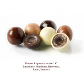 Dragées liquore assortiti 500 gr Mucci