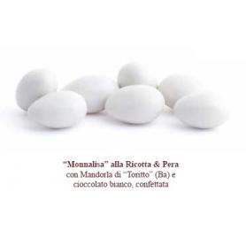 """Confetti """"Monnalisa"""" ricotta e pera 500 gr Mucci"""