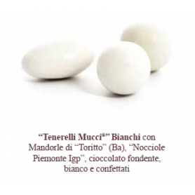 "Confetti ""Tenerelli"" bianchi 500 gr Mucci"