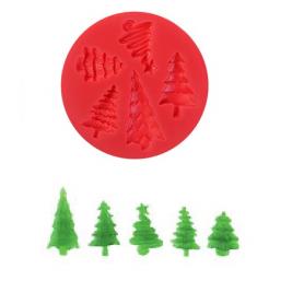 Stampo in silicone Alberelli MODECOR