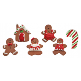 Decorazioni natalizie in zucchero 4 DECORA