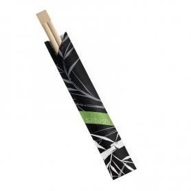 100 Bacchette in bamboo 21 cm LEONE