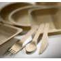 48 Forchette in legno di betulla LEONE