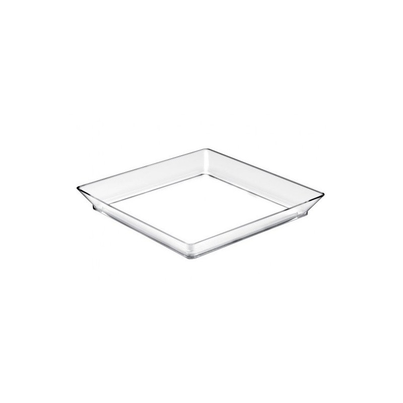 12 Vassoi medium trasparenti