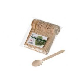 48 Cucchiai in legno di betulla LEONE
