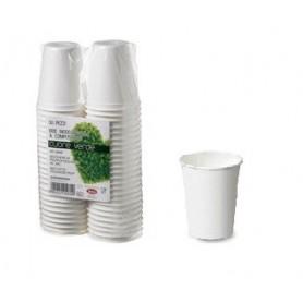 50 Bicchieri in polpa di cellulosa LEONE