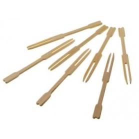 100 Forchettine in bamboo LEONE