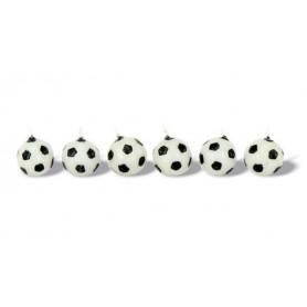 6 Candele palloni calcio