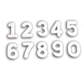 Polistirolo professionale a forma di numero