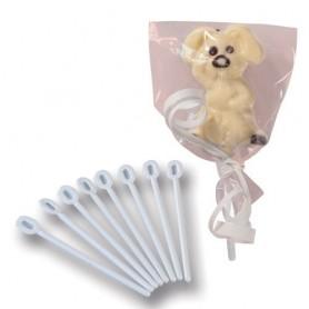 100 Bastoncini per lollipops