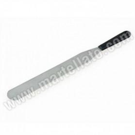Spatola in acciaio inox con manico in plastica varie misure