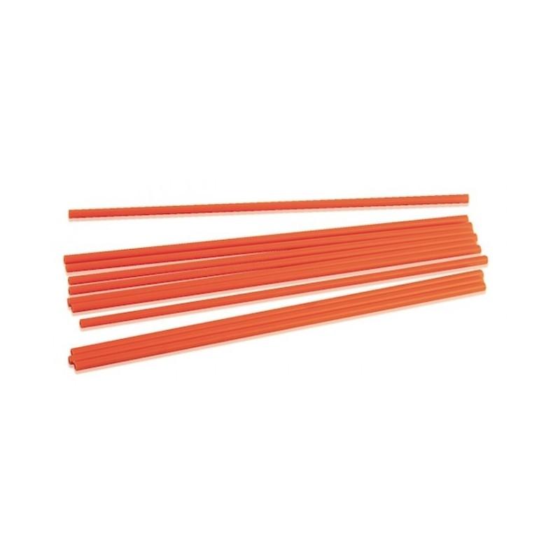 50 Pioli arancioni h. 30 cm