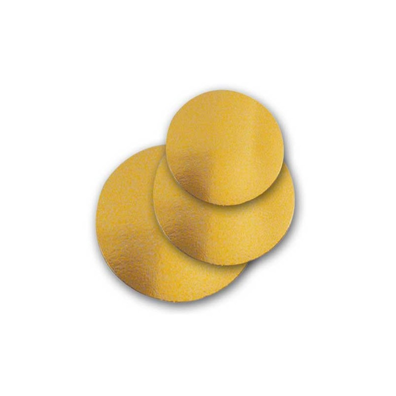 50 Dischi sottotorta leggeri oro NOVACART